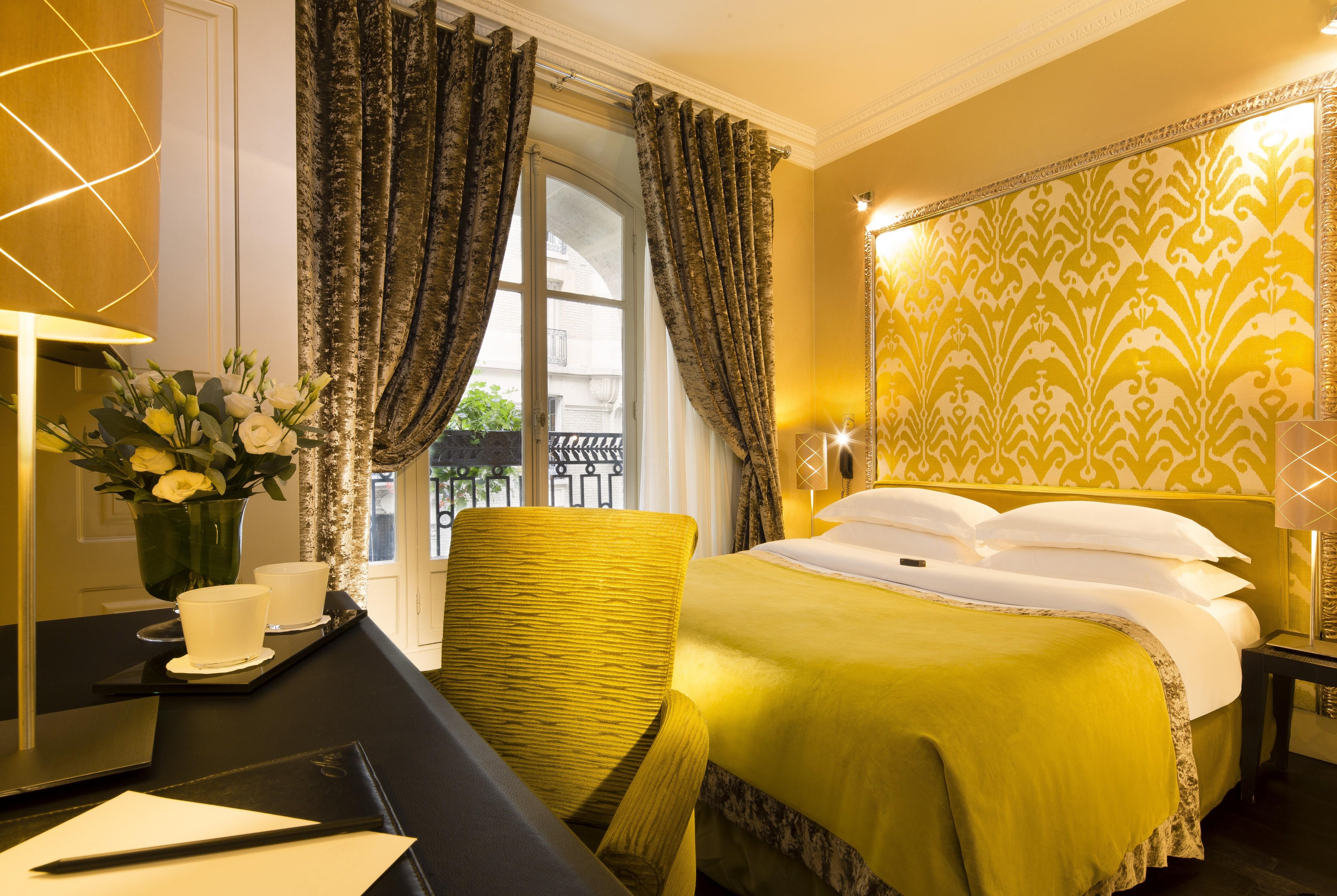 Hotel Ares Eiffel Paris Elegant Paris Boutique Hotel Classic Vaerelse